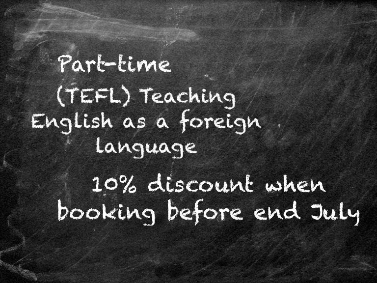 Part Time August Tefl Course Sandton
